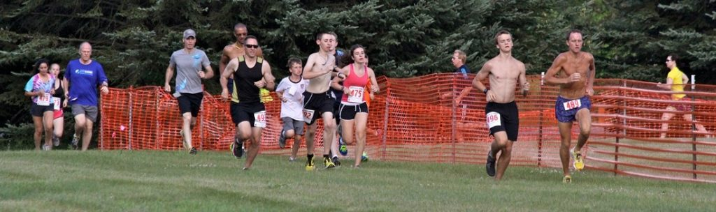 Festival 5K race, people running