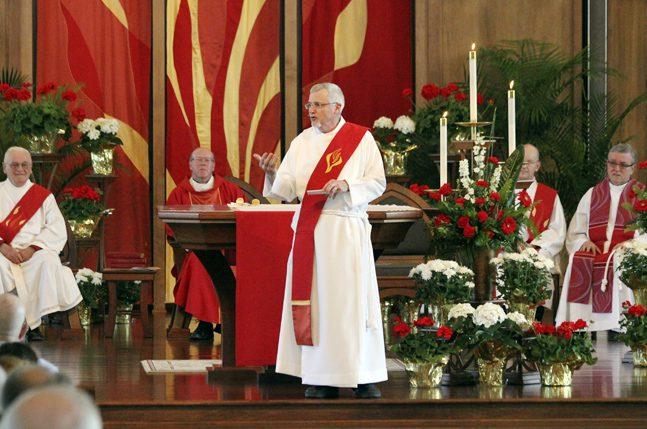 Deacon Randy Preaches