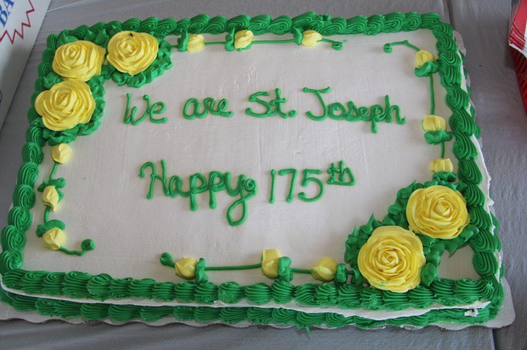 175th Anniversary cake