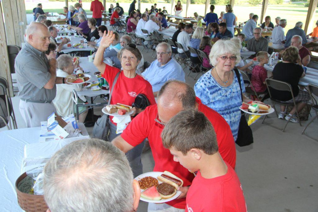 Parish picnic revelry